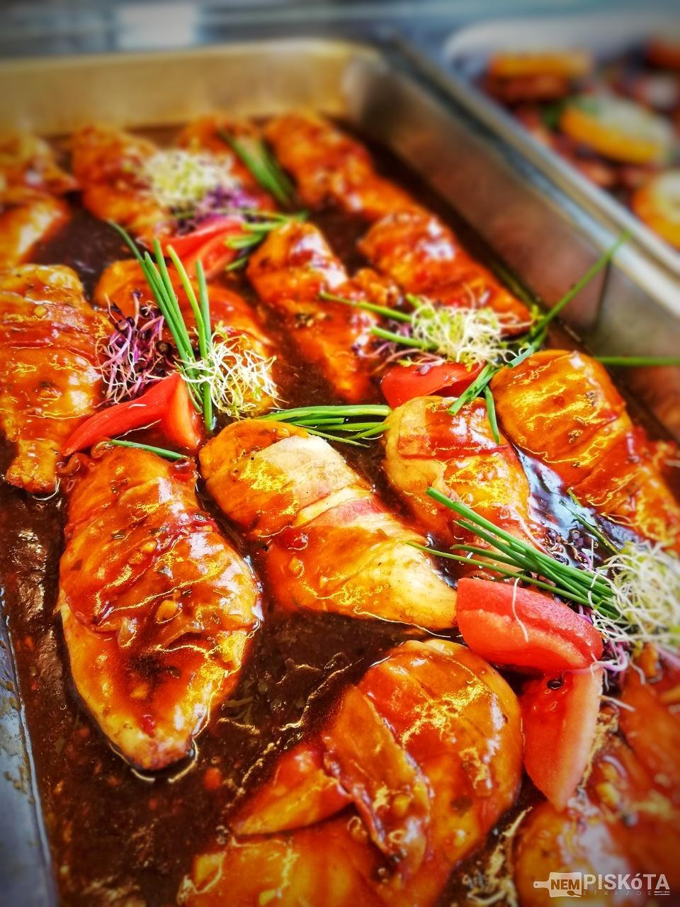 NemPiskóta Étkezde: Pikáns csirkemell