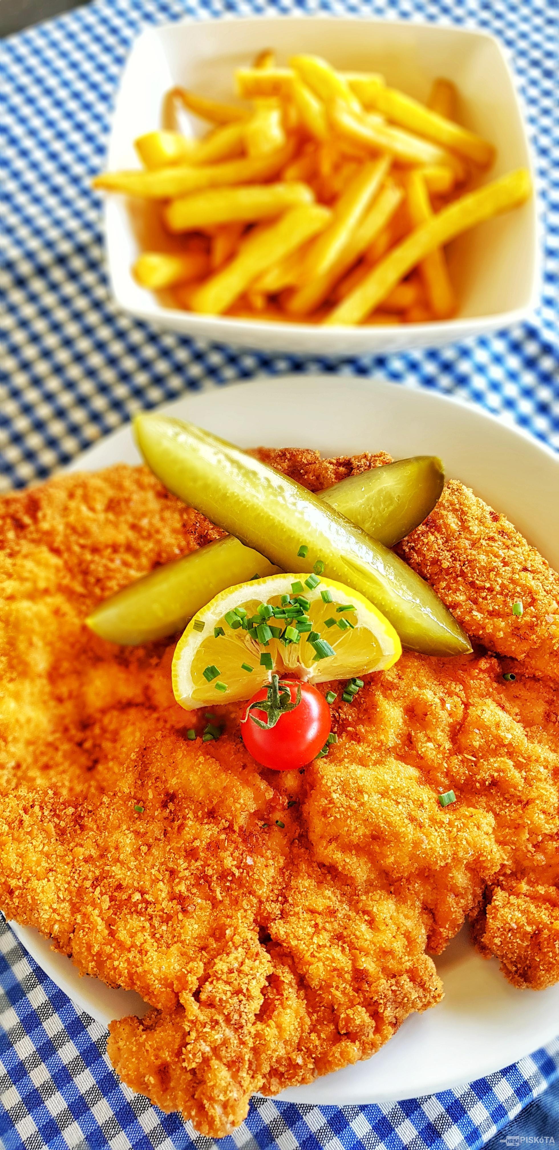 NemPiskóta Étkezde: Bécsi szelet
