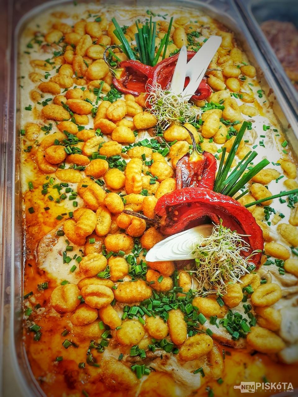NemPiskóta Étkezde: Mediterrán gnocchi